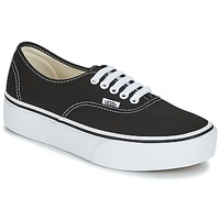 kengät Naiset Matalavartiset tennarit Vans AUTHENTIC Black