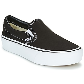 kengät Naiset Tennarit Vans SLIP-ON PLATFORM Black