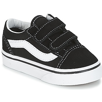 kengät Lapset Matalavartiset tennarit Vans OLD SKOOL V Black