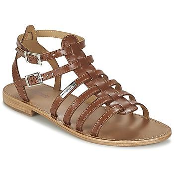 kengät Naiset Sandaalit ja avokkaat Les Tropéziennes par M Belarbi HIC Ruskea
