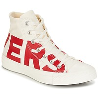 kengät Korkeavartiset tennarit Converse Chuck Taylor All Star Hi Converse Wordmark White / Red