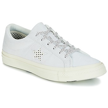 kengät Naiset Matalavartiset tennarit Converse One Star-Ox White / Black