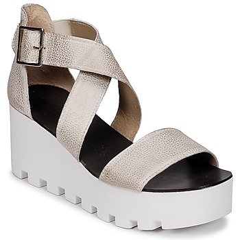 kengät Naiset Sandaalit ja avokkaat Sweet Lemon SUBWAY Hopea