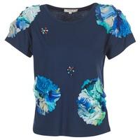 vaatteet Naiset Lyhythihainen t-paita Derhy BANGKOK Laivastonsininen