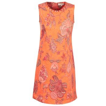 vaatteet Naiset Lyhyt mekko Derhy ANTILLAIGAN Orange