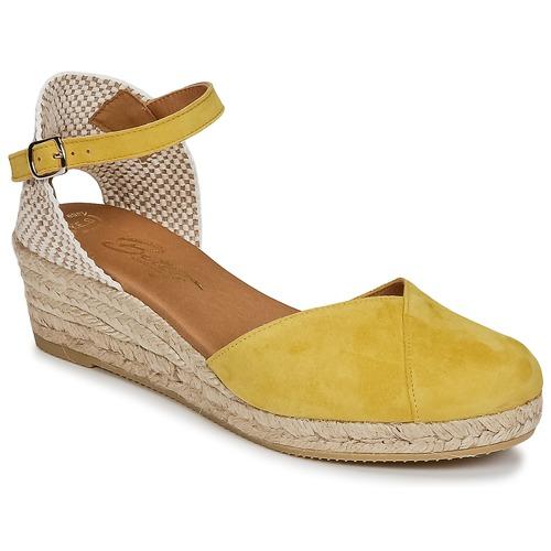 kengät Naiset Sandaalit ja avokkaat Betty London INONO Yellow