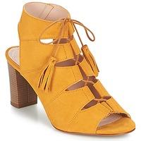 kengät Naiset Sandaalit ja avokkaat Betty London EVENE Keltainen