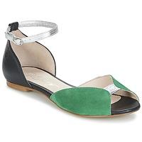 kengät Naiset Sandaalit ja avokkaat Betty London INALI Black / Hopea / Green