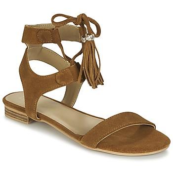 kengät Naiset Sandaalit ja avokkaat Betty London IKARA Brown
