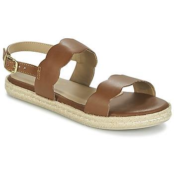 kengät Naiset Sandaalit ja avokkaat Betty London IKARO Ruskea