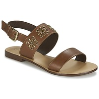 kengät Naiset Sandaalit ja avokkaat Betty London IKIMI Brown