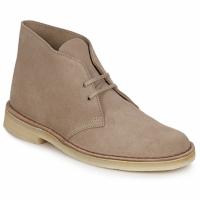 kengät Miehet Bootsit Clarks DESERT BOOT Hiekka