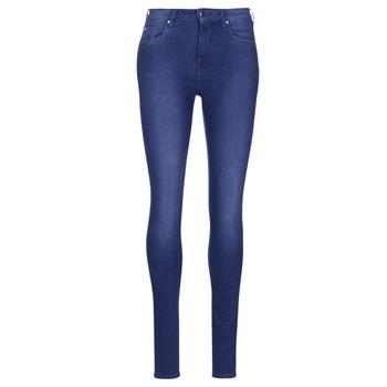 vaatteet Naiset Skinny-farkut Pepe jeans REGENT Blue
