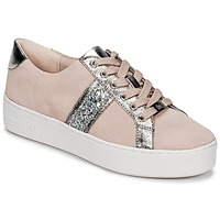 kengät Naiset Matalavartiset tennarit MICHAEL Michael Kors POPPY STRIPE LACE UP Pink
