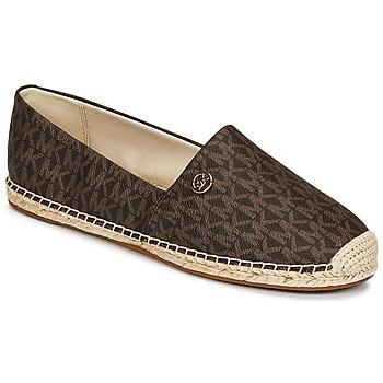 kengät Naiset Espadrillot MICHAEL Michael Kors KENDRICK SLIP ON Brown