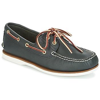 kengät Miehet Purjehduskengät Timberland CLASSIC 2 EYE Sininen / Smooth