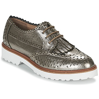 kengät Naiset Derby-kengät Mam'Zelle ROSEAU Hopea
