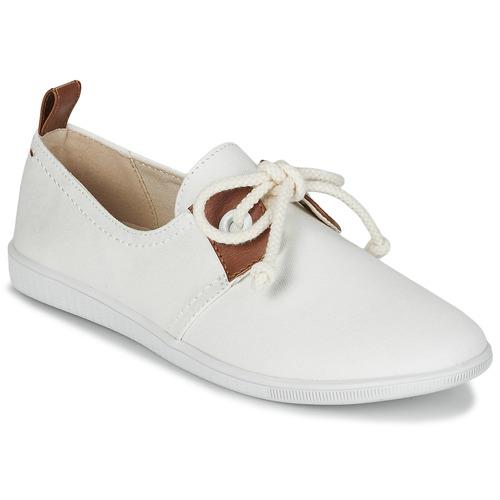 kengät Naiset Matalavartiset tennarit Armistice STONE ONE W White