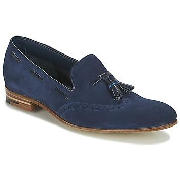 kengät Miehet Mokkasiinit Barker RAY Laivastonsininen