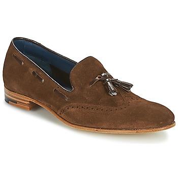 kengät Miehet Mokkasiinit Barker RAY Brown