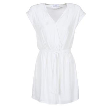 vaatteet Naiset Lyhyt mekko Le Temps des Cerises FORKATON White