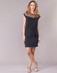 vaatteet Naiset Lyhyt mekko Le Temps des Cerises JURIETO Black