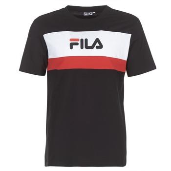 vaatteet Miehet Lyhythihainen t-paita Fila AARON TEE SS Black