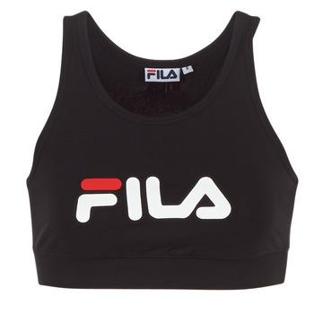 vaatteet Naiset Lyhythihainen t-paita Fila OTHER CROP TOP Black
