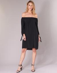 vaatteet Naiset Lyhyt mekko LPB Woman ARIN Black
