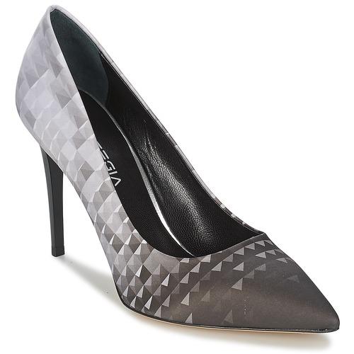 kengät Naiset Korkokengät Strategia BALSORANO Black / Grey