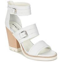 kengät Naiset Sandaalit ja avokkaat Strategia BARREA White