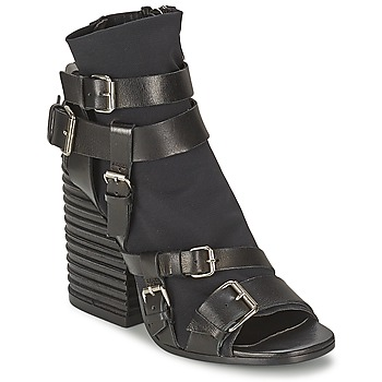 kengät Naiset Nilkkurit Strategia BUGNARA Black