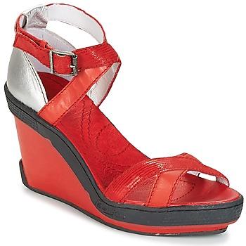 kengät Naiset Sandaalit ja avokkaat Pataugas GOUY Red