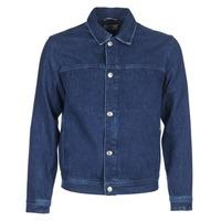 vaatteet Miehet Farkkutakki Tommy Jeans TJM STREET TRUCKER JKT Blue