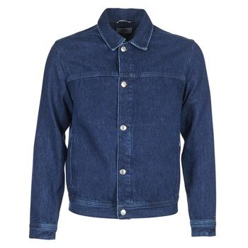 vaatteet Miehet Farkkutakki Tommy Jeans TJM STREET TRUCKER JKT Sininen