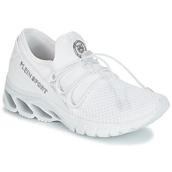 kengät Naiset Matalavartiset tennarit Philipp Plein Sport KRISTEL White