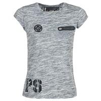 vaatteet Naiset Lyhythihainen t-paita Philipp Plein Sport SITTIN OVER HERE Grey