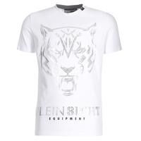 vaatteet Miehet Lyhythihainen t-paita Philipp Plein Sport EDBERG White / Silver