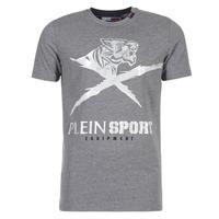 vaatteet Miehet Lyhythihainen t-paita Philipp Plein Sport BORIS Grey / Silver