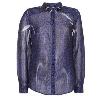 vaatteet Naiset Paitapusero / Kauluspaita Guess BORICE Blue