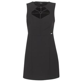vaatteet Naiset Lyhyt mekko Guess SLOREPA Black