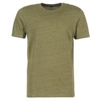 vaatteet Miehet Lyhythihainen t-paita Jack & Jones TABLE CORE Kaki