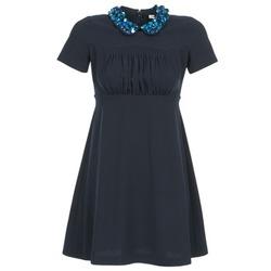 vaatteet Naiset Lyhyt mekko Manoush COMMUNION Blue