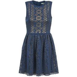 vaatteet Naiset Lyhyt mekko Manoush NEOPRENE Blue / Kulta