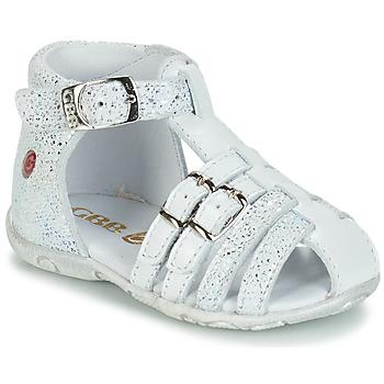 kengät Tytöt Sandaalit ja avokkaat GBB SAMIRA White
