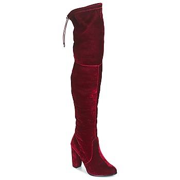 kengät Naiset Ylipolvensaappaat Buffalo  Punainen