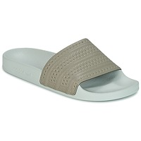 kengät Rantasandaalit adidas Originals ADILETTE Beige / Green