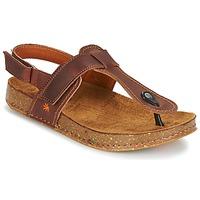 kengät Naiset Sandaalit ja avokkaat Art WE WALK Brown