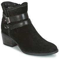 kengät Naiset Nilkkurit Tamaris ABERBER Black