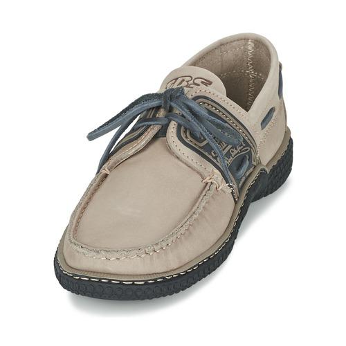 Naisten kengät TBS GLOBEK Beige  kengät Purjehduskengät Miehet 10560